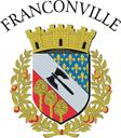 Blason franconville 128px